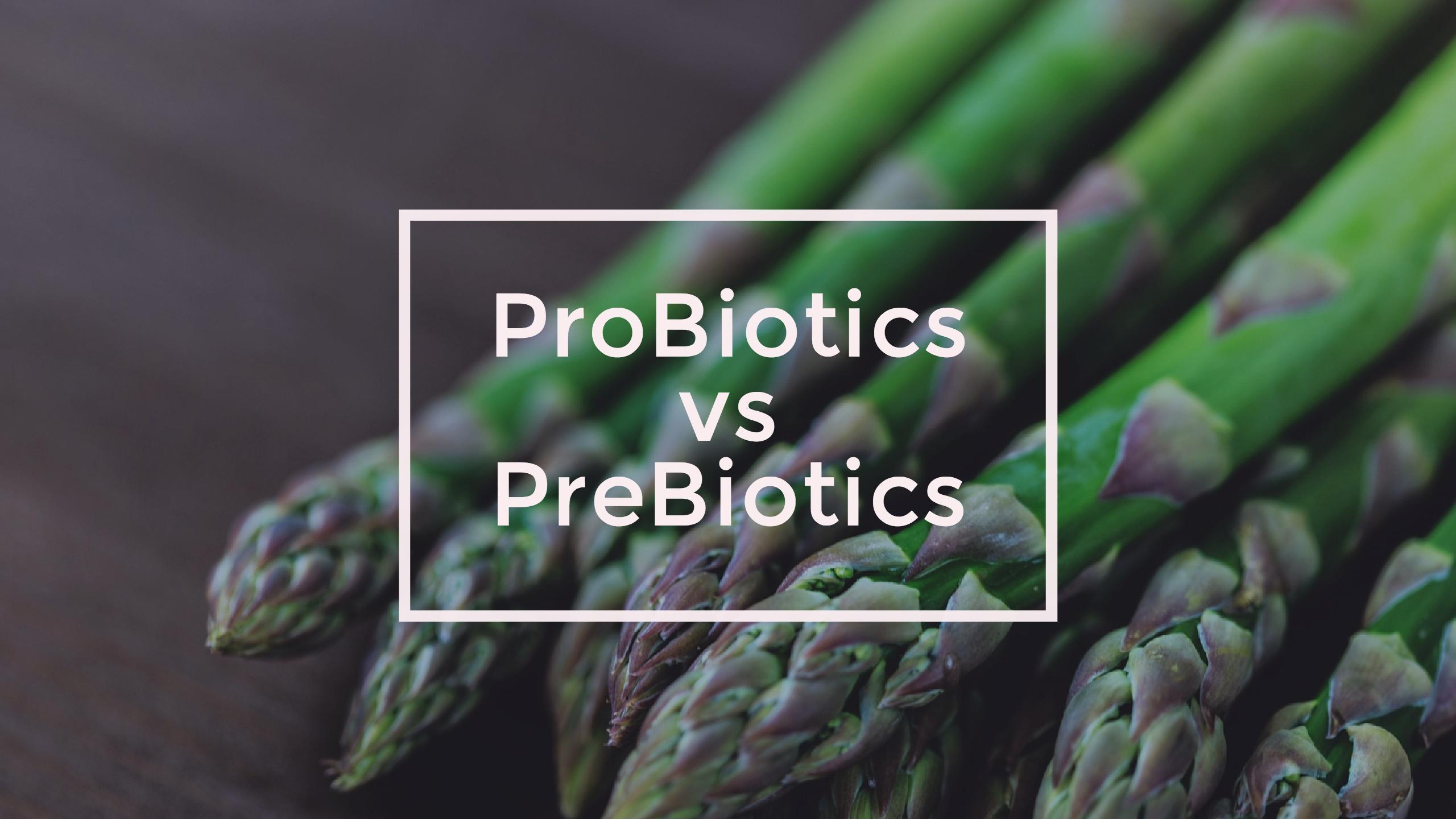Probiotics vs prebiotics - Eat to treat